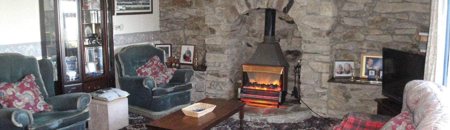Kimbland Farm Lounge with Sky TV and Wood Burner