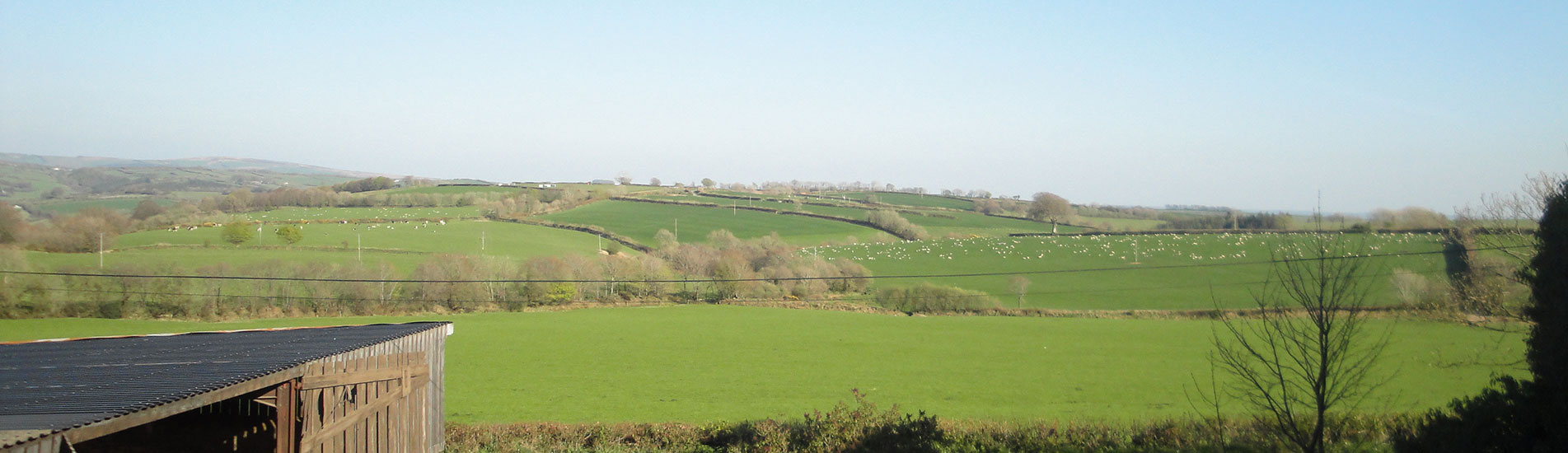 Views from Kimbland Farm, Overlooking Exmoor