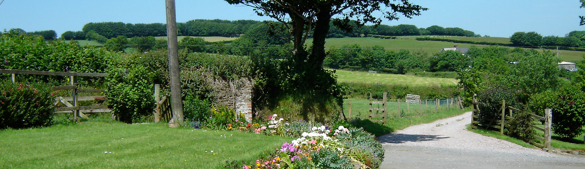 Views at Kimbland Farm, Devon